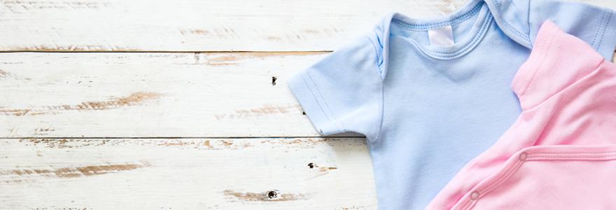 Étiquettes vêtements des enfants
