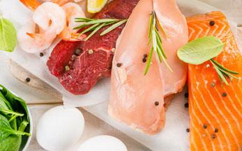 Les viandes, poissons, oeufs